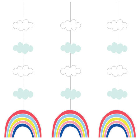 Over The Rainbow Hanging Cut Outs