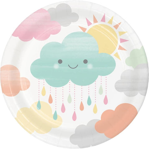 Sunshine Baby Shower Luncheon Plate