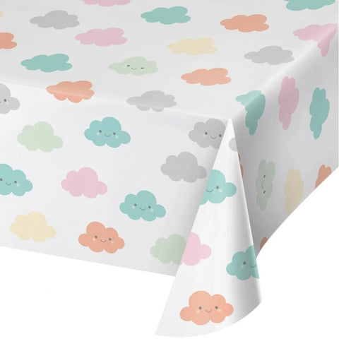 Sunshine Baby Shower Plastic Tablecover