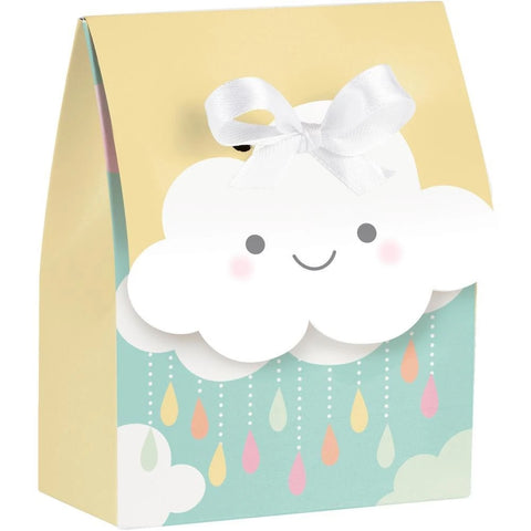 Sunshine Baby Shower Favor Bags W/ Ribbon