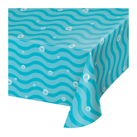 Ocean Celebration Paper Table Cover 54in x 102in pc