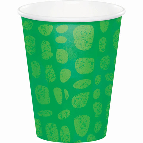 Alligator Party Hot and Cold Cup 9oz 8pcs