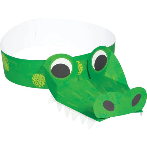 Alligator Party Headband 8pcs
