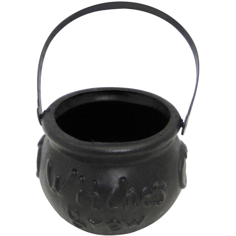 Witches Brew Cauldron Black