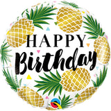 Round Birthday en Pineapples
