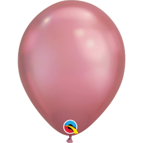 11in Chrome Mauve Plain Balloon