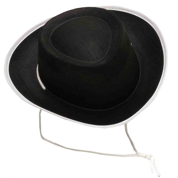 Cow Boy Child Black Hat