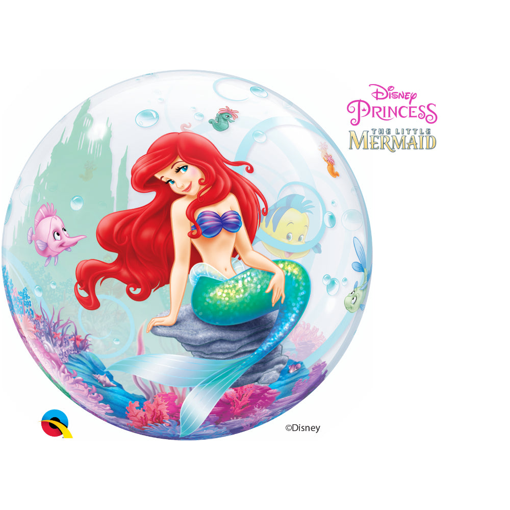 The Little Mermaid Single Bubble
