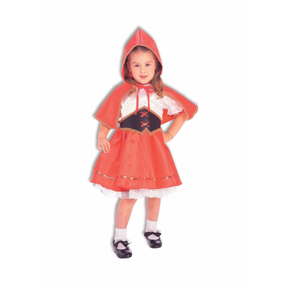 Story Book Deluxe Lil Red Riding Hood Girl Costume