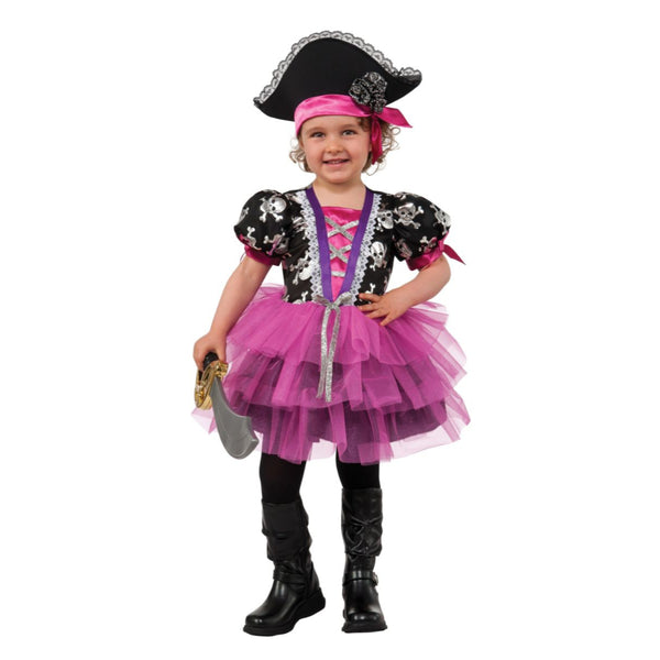 Pirate Princess Girl Costume Toddler