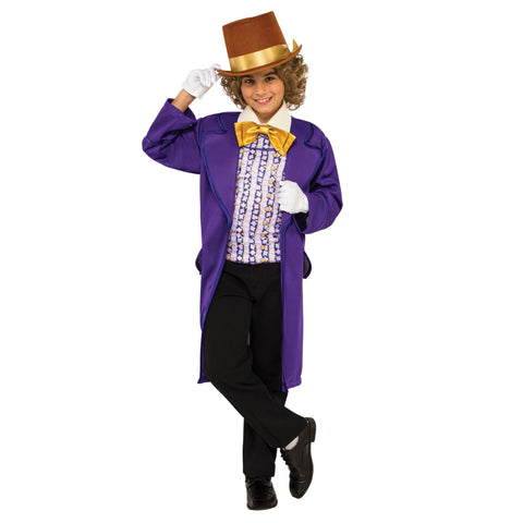 Willy Wonka Boy Costume
