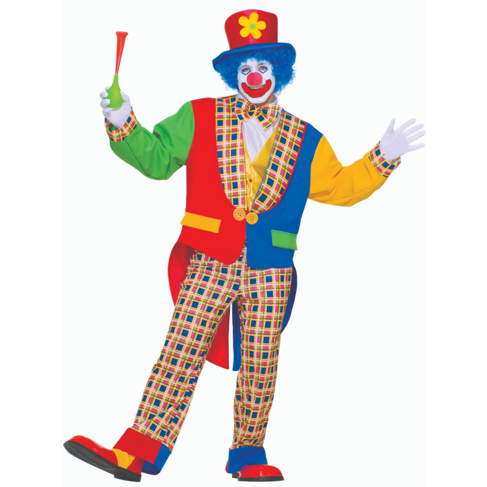 Clown On The Town Male Costume