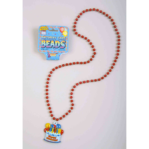Happy Birthday Cake Beads