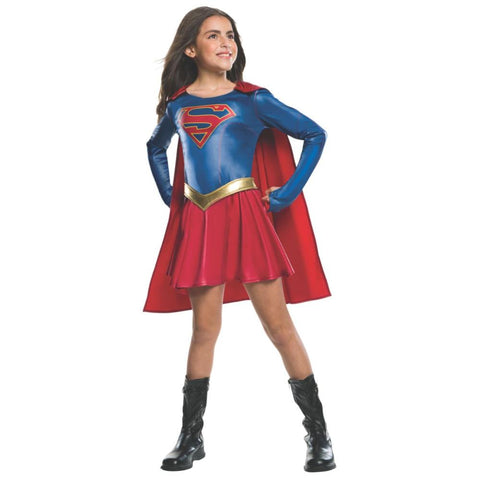 Supergirl Girl Costume L
