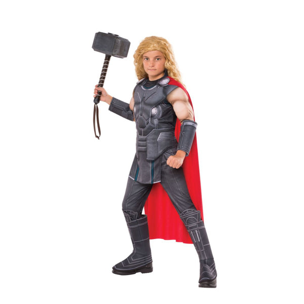 Deluxe Muscle Chest Thor Boy Costume