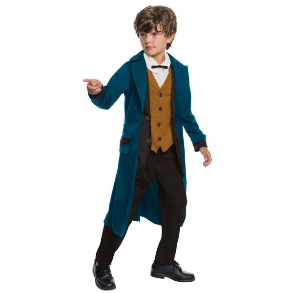 Deluxe New Scamander Boy Costume