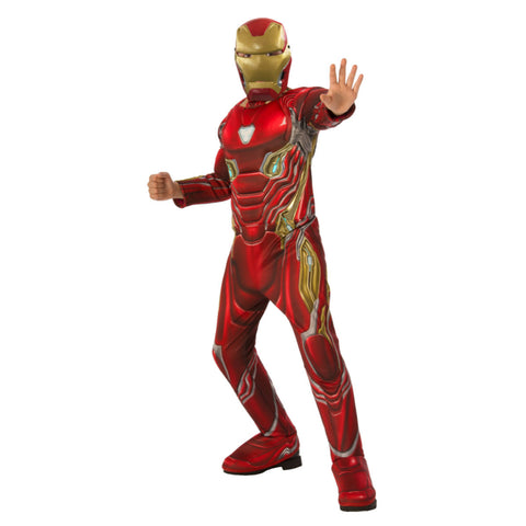 Iron Man Infinity War Kids Deluxe Costume