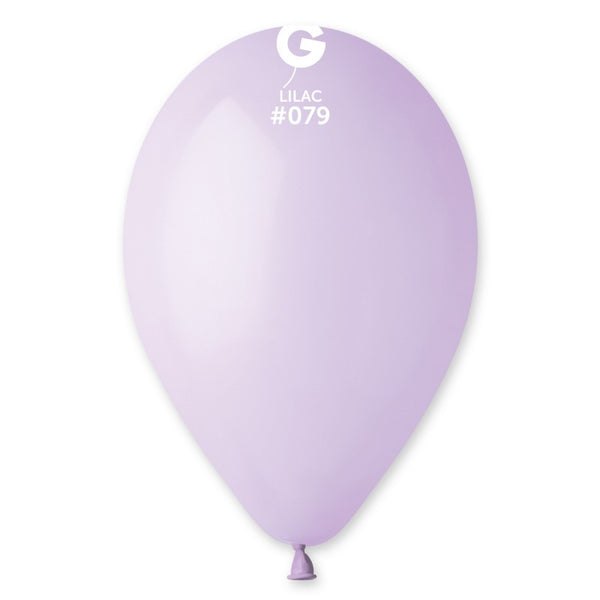 12 Inch Round Balloons Lilac