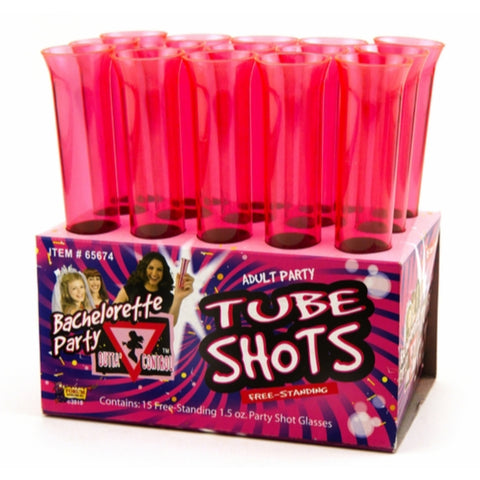 Bachelorette Tube Shots
