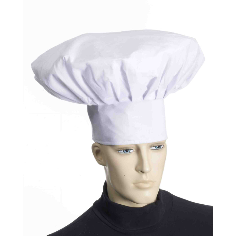 Deluxe Adult Cloth Chef Hat
