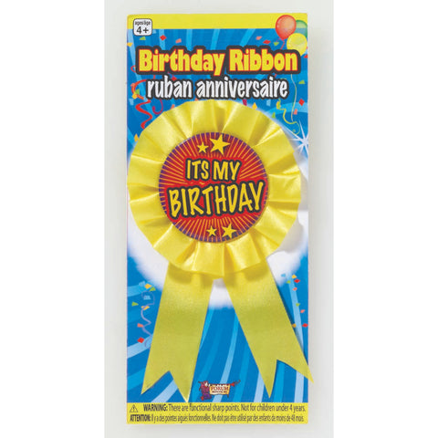 Its My Birthday Ribbon