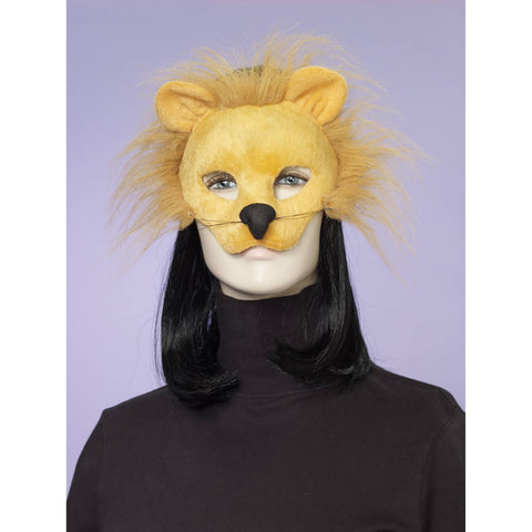 Deluxe Fuzzy Lion Mask