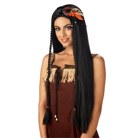 Sexy Indian Princess Female Wig
