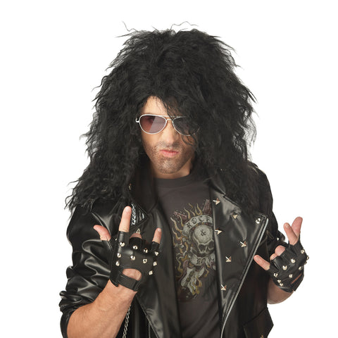 Heavy Metal Rocker Male Wig