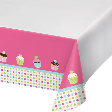 Sweet Treats Tablecover Plastic  Border Print