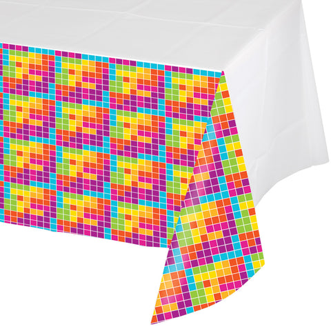 Get Nerdy Plastic Tablecover Border Print