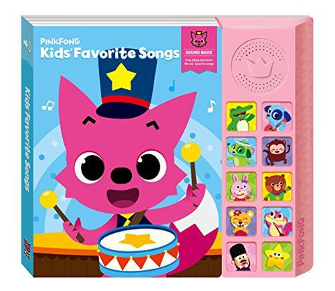 Babyshark Sound Book  Kids Fav.Songs
