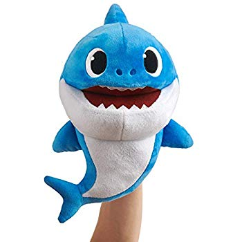 Babyshark Puppet Father Shark Blue