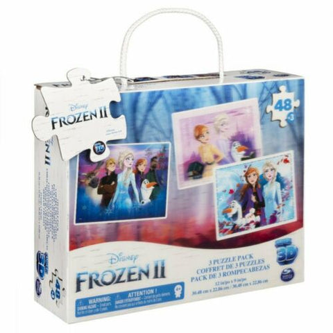 Puzzle DIS Frozen2 Super 3D Lent