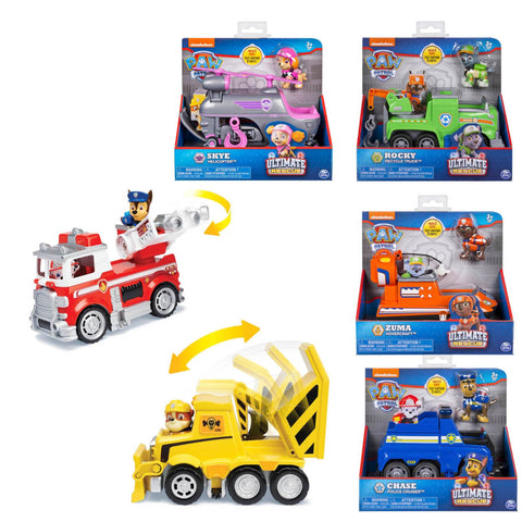 Paw Patrol Ultimate Rescue Themed Vehicles Assorted