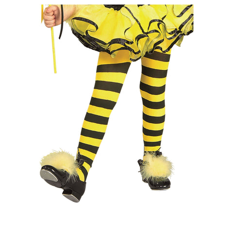 Bumble Bee Girl Tights