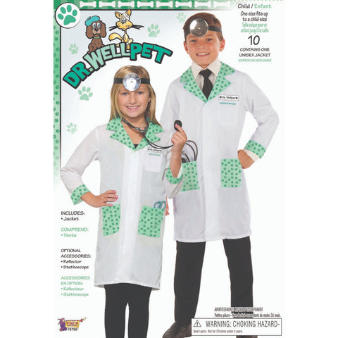 Dr. Wellpet Boy Costume