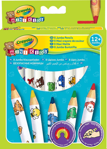Jumbo Decorated Pencils 8