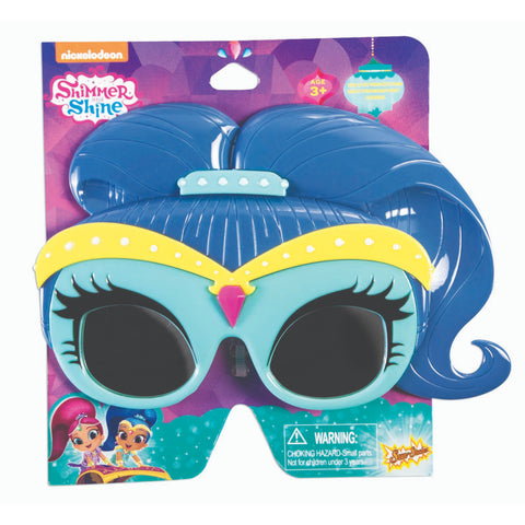 Blue Hair Shimmer Sunstaches
