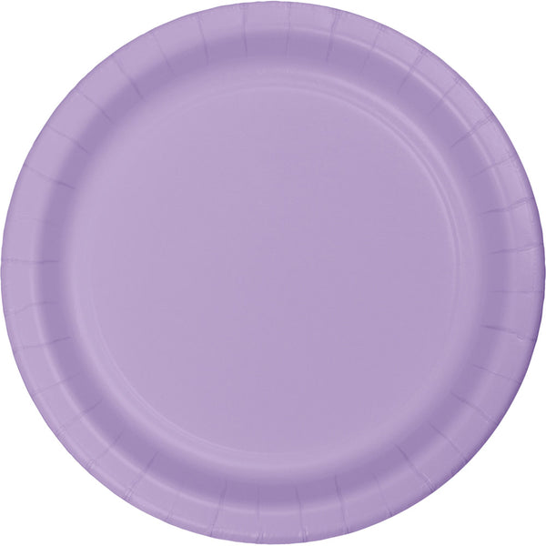 Touch Of Color Lunch Plate 7IN Luscious Lavender