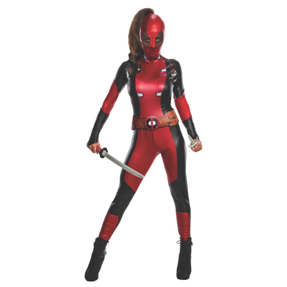Secret Wishes Womens Dead Pool Costume