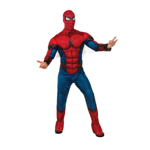 Adult Deluxe Spiderman Muscle Chest Costume