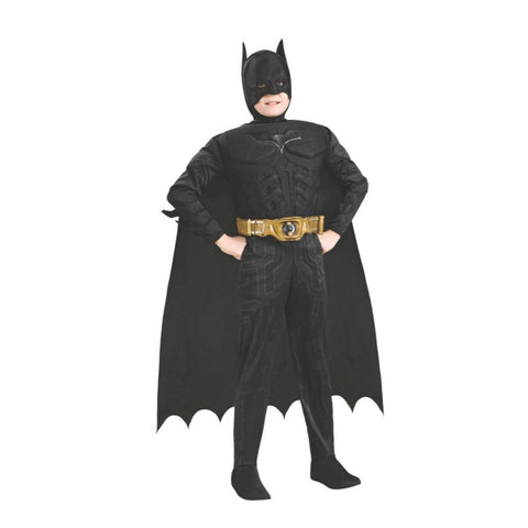 <Batman Deluxe Muscle Chest Boys Costume
