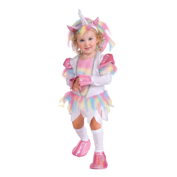Rainbow Unicorn Toddler Girl Costume