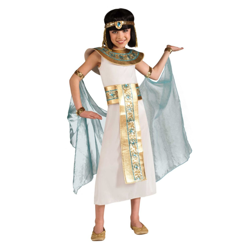 Blue Cleopatra Girl Costume