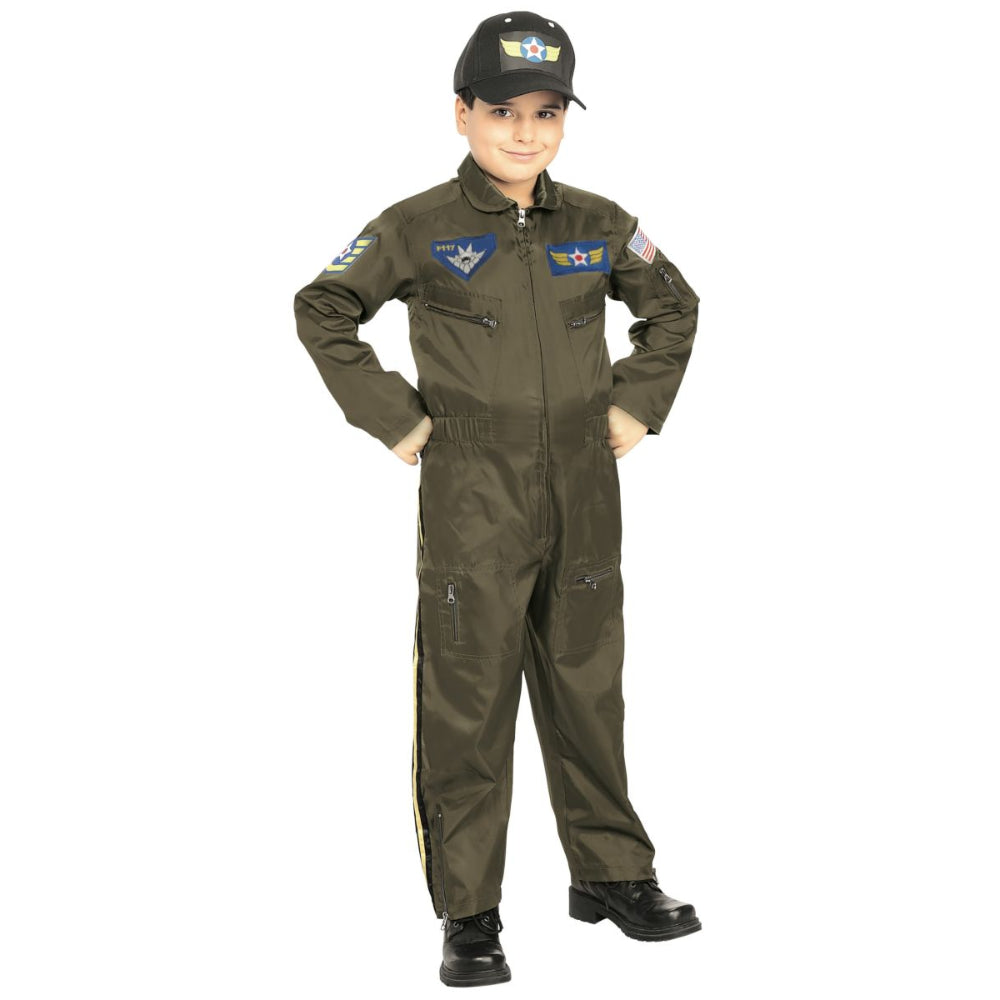 Air Force Fighter Pilot Boy Child Costume Toddler