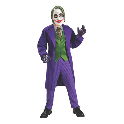 Delux The Joker Boy Costume