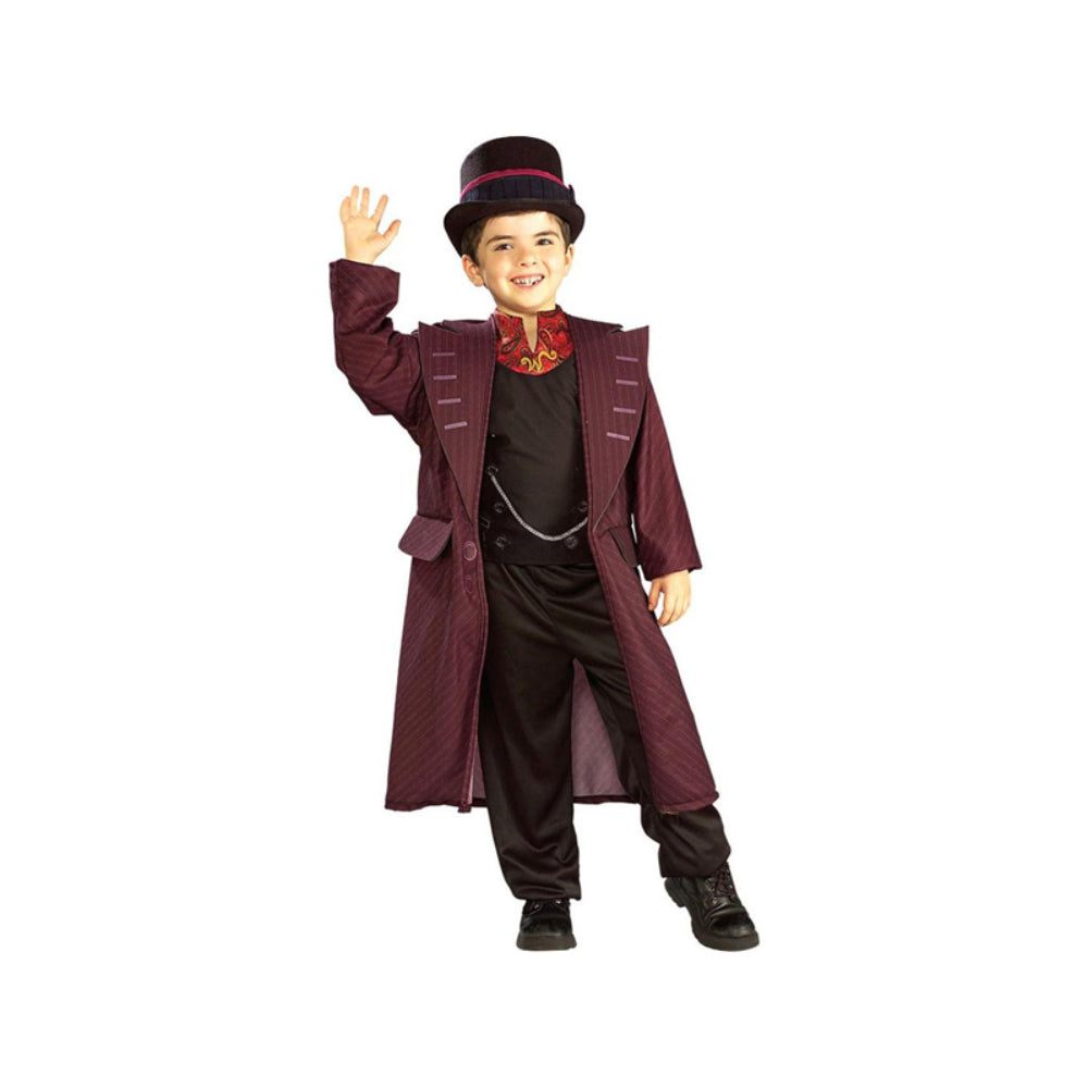 Charlie And The Chocolate Factory- Willy Wonka Boy Costume