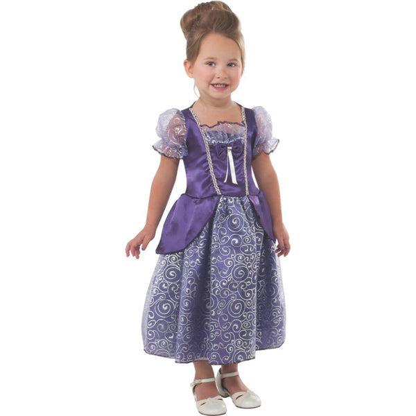 Purple Princess Girl Costume