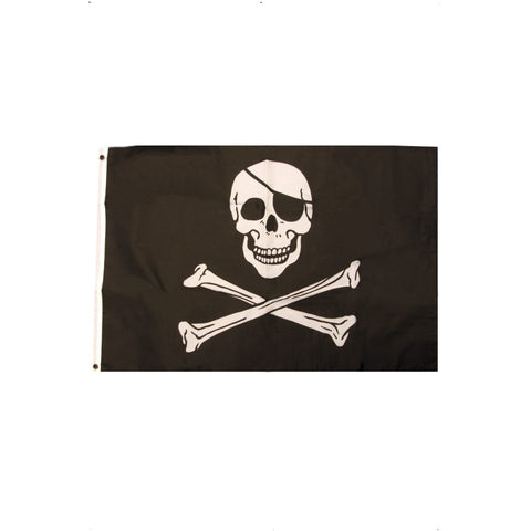 Pirate Flag With Skull & Crossbones