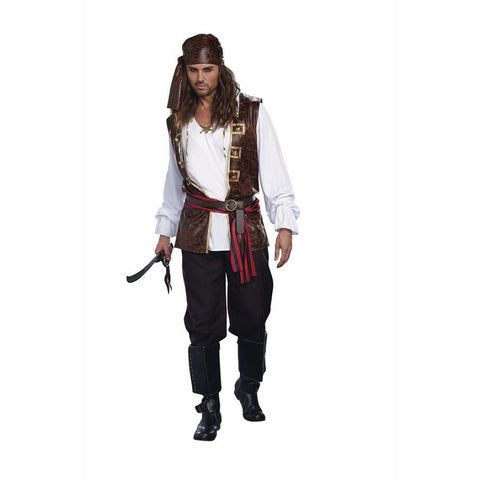 Sea Worthy Pirate Male Costume
